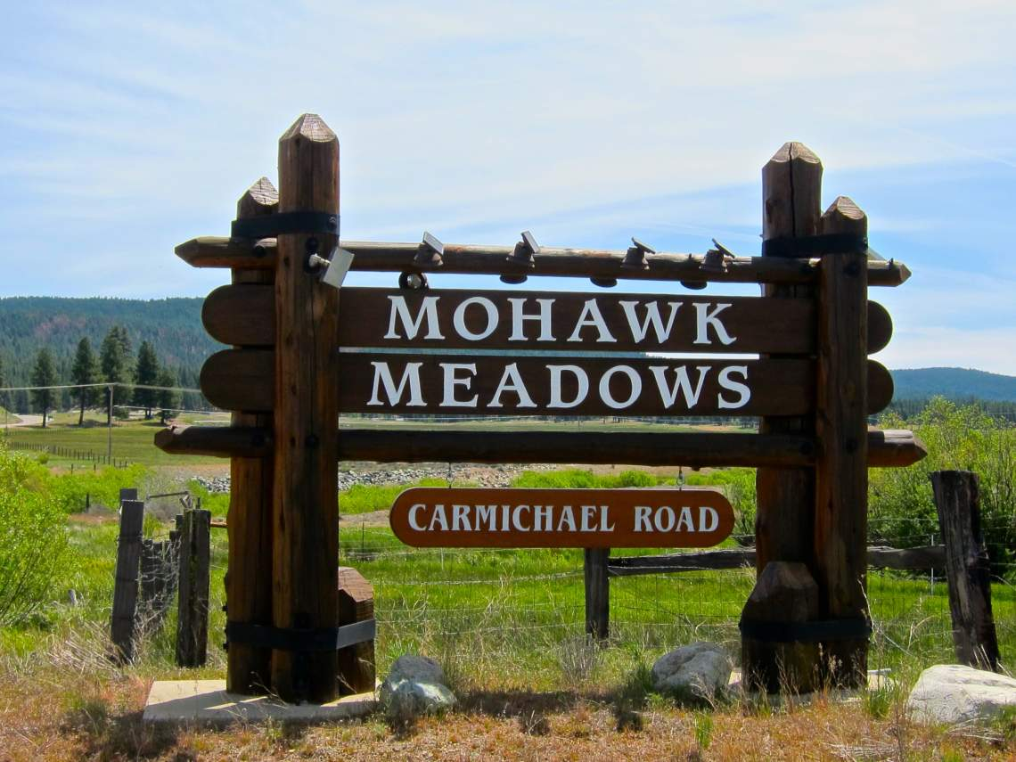Mohawk Meadows subd sign