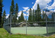 Plumas Pines tennis courts sized