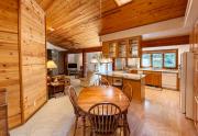 Breakfast nook and kitchen
