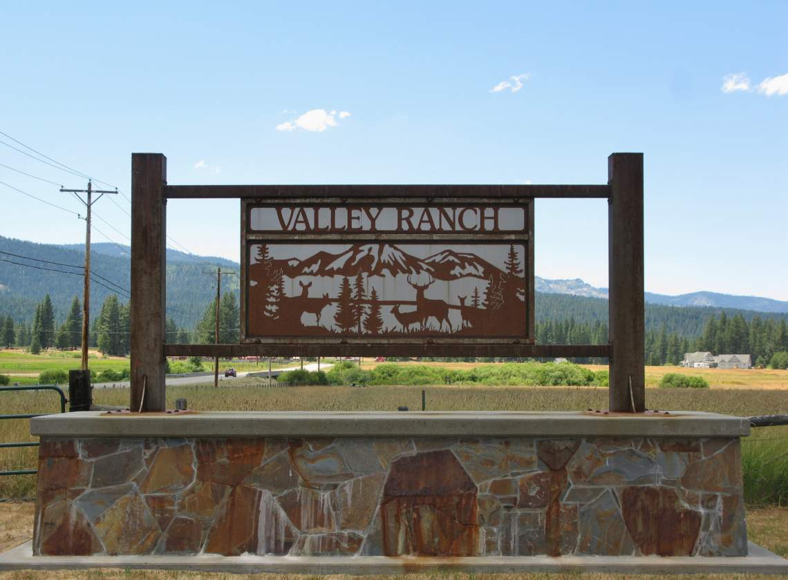Entrance to Valley Ranch